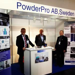 PowderPro Exhibition CERAMITEC 2012 München