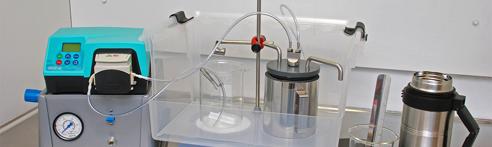 Thermal spraying with Lab-scale Freeze Granulator