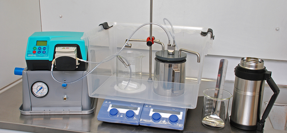 Lab-scale Freeze Granulator